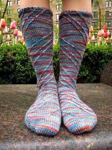 Sprial sock, complete