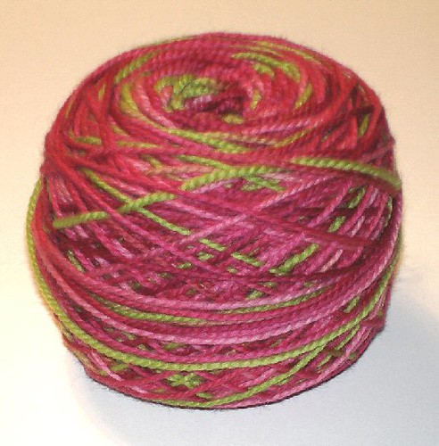 Shibui Knits orchid colorway