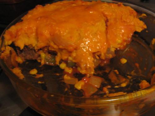 Veggie eyeball pie