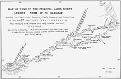 Map of Some of the Principal Lakes, River's Le...