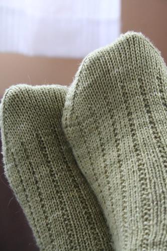 Koigu KPM 3x1 Garter Rib Socks