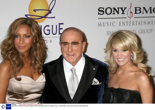 Leona Lewis, Clive Davis, Carrie Underwood