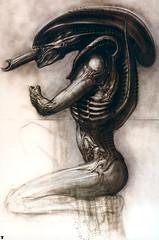 Alien, de Giger - CLIQUE PARA AMPLIAR