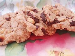 Chocolate-Coconut-Hazelnut Cookies