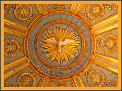 Detail of Holy Spirit in the Lateran Baptistery