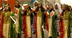 Girls during Kuwait National day