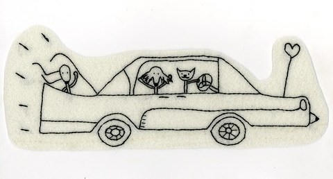 donna, venda y trix en el cadillacksss run runnnnruunnn   (20cm)