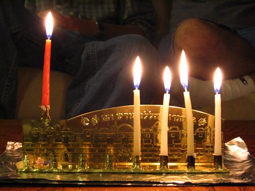 Hanukkah 2007 - night 4