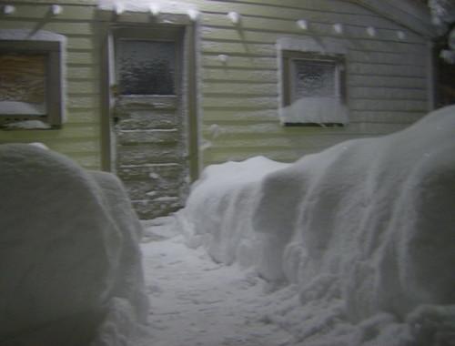 Snowfall during Winter 2007-2008