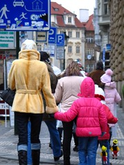 Praga Wenceslaw square