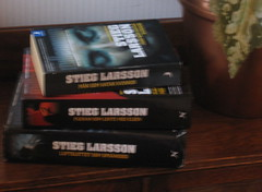 Stieg Larsson books