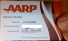 AARP card