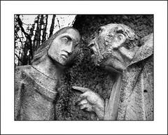 Via Crucis III - Gesù è condannato dal sinedrio, by brtsergio
