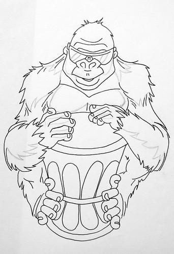 Gorille - Gorilla