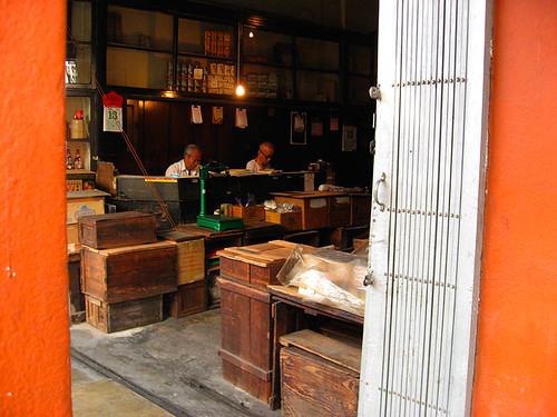 Shopkeepers in Chinatown