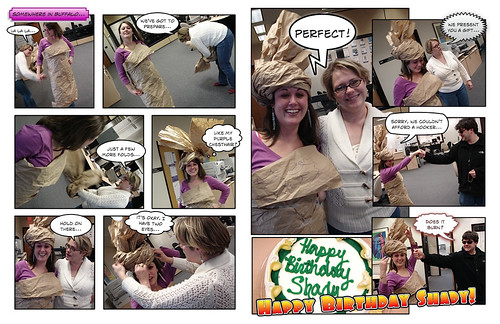 Project Runway: Packing Material Edition (Comic)
