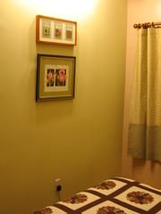 Bedroom Green Wall