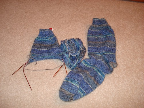 First Earth Day Sock 1