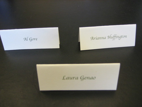 Purloined Placecards