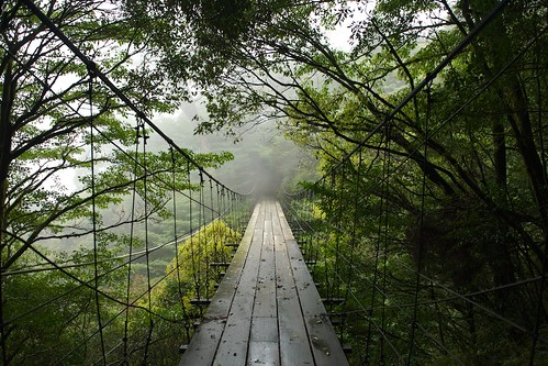 A Suspension Bridge in Taiwan