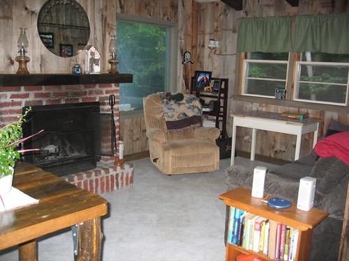 Camp at Square Lake