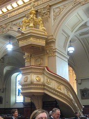 Pulpit, Basilica Cathedral Notre-Dame de Québec