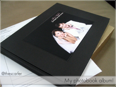 My photobook album!