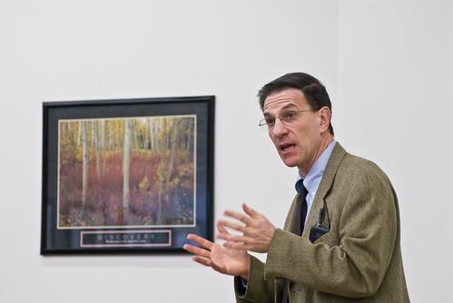 Ethan Bronner speaks at UVSC, on Flickr