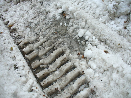 Plow tracks