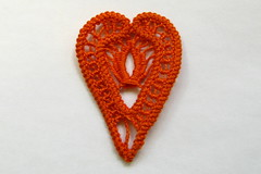 Thing 25. My first Romanian Point lace motif