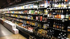 beer selection at Greenlife Market
