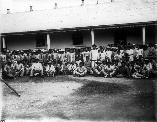 Prisoners in Batangas.