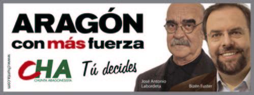 ARAGÓN CON MÁS FUERZA