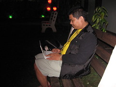Using Asus Eee PC with Argao's free Wi-Fi
