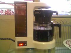 Fresh coffee brew
