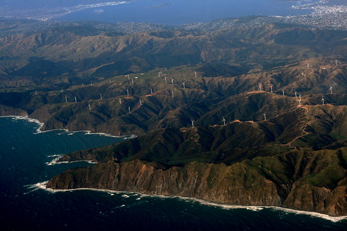 Sunday: Wind Farm: Makara