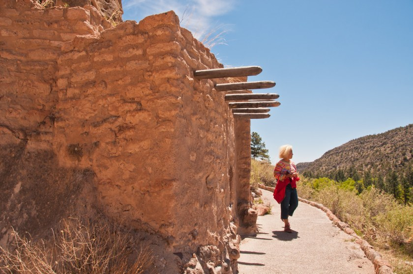 Reconstructed Anasazi house