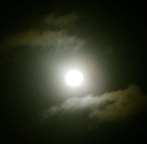 Moon With Clouds 1