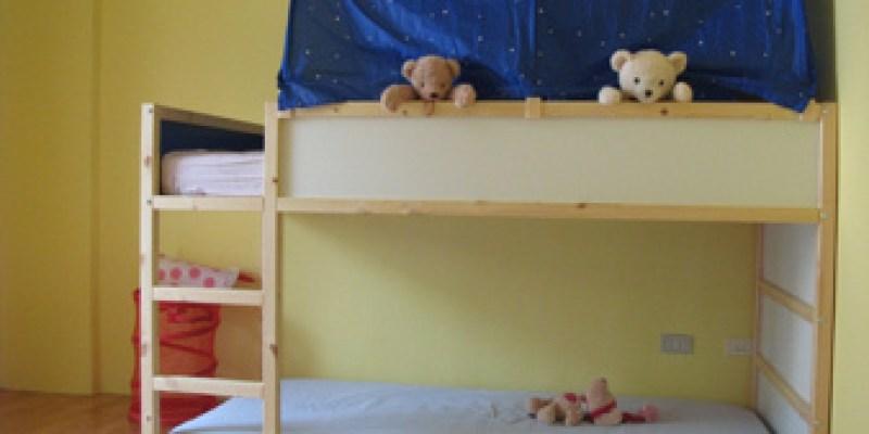 左右兒童房:組裝上下床與收納櫃(4.1 ys)