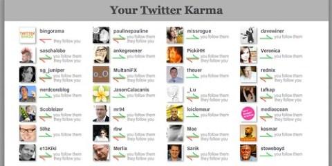 twitter karma