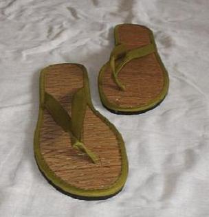 grüne Flip-Flop