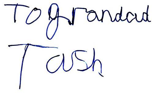 To Grandad Tash