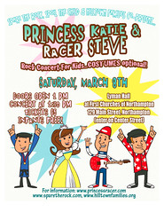 Princess Katie & Racer Steve on March 8th