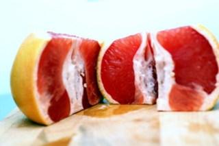 grapefruit peels, step 2
