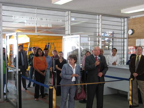Inauguración 3a. Feria del libro antropológico