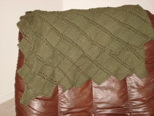 Argosy Blanket Folded