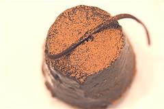 Cinnamon-Orange Dark Chocolate Popover Cake