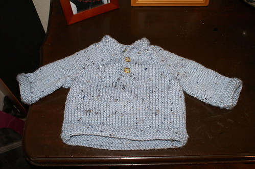 Knit BabyPulloverTweed