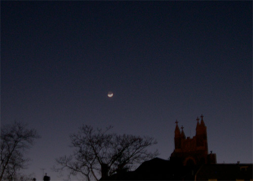 moon over calvary