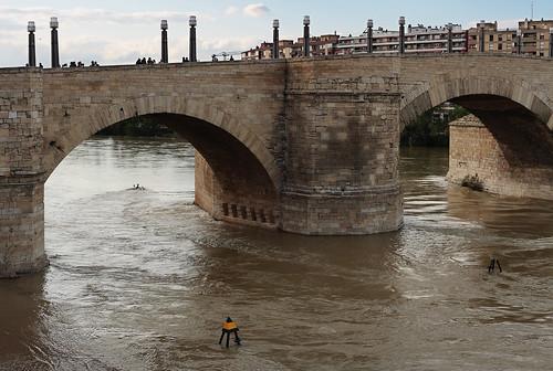 Puente de Piedra y paso navegable... en un futuro